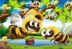 قصة النحلة العجيبة والعسل المفيد قصصي