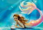 قصة حورية البحر الصغيرة والعشبة العجيبة مكتوبة