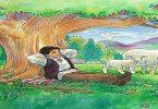 قصة الراعي الكذاب والأغنام للأطفال