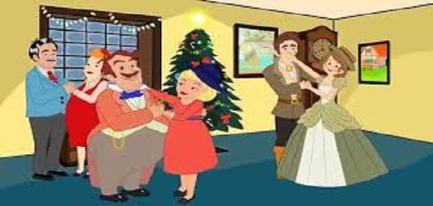 قصة ترنيمة يوم الميلاد للأطفال جميلة جدا