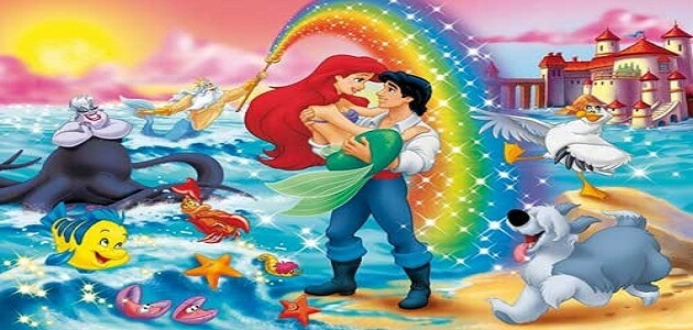 قصة جنية البحر الحقيقية أريل للأطفال