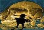 قصة علي بابا والأربعين حرامي مكتوبة