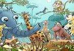 قصة حيوانات الغابة جميلة بالصور